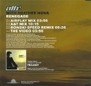 ATB, Renegade (CD, backcover)