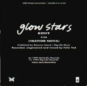 Glow Stars promo (backcover, France)