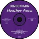 London Rain promo (CD, Germany)