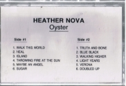 Oyster promo (cassette, cover, USA)